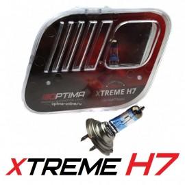 Галогенные лампы Optima Xtreme H7 +130% 4200K