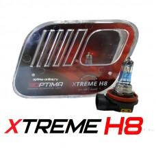 Галогенные лампы Optima Xtreme H8 +130% 4200K