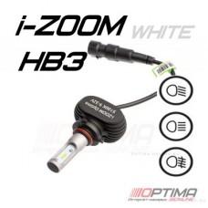 Светодиодные лампы Optima LED i-ZOOM HB3 5100K 9-32V (комплект 2шт.)