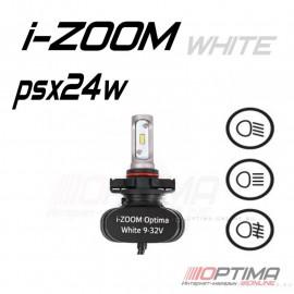 Светодиодные лампы Optima LED i-ZOOM PSx24 5100K 9-32V (комплект 2шт.)