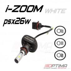 Светодиодные лампы Optima LED i-ZOOM PSX26W 5100K 9-32V (комплект 2шт.)