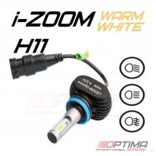 Светодиодные лампы Optima LED i-ZOOM H11 Warm White 4200K
