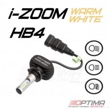 Светодиодные лампы Optima LED i-ZOOM HB4 Warm White 4200K