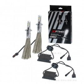 Светодиодные лампы Optima Led Premium Cobalt H7 4800K 12-24V (комплект 2шт.)