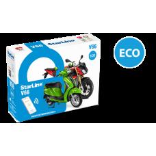 Сигнализация StarLine MOTO V66 ECO